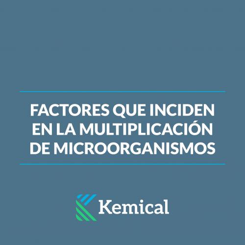 factores que inciden en la multiplicación de organismos